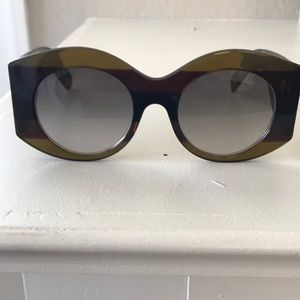 NWOT Gucci URBAN WEB BLOCK DIVA Sunglasses